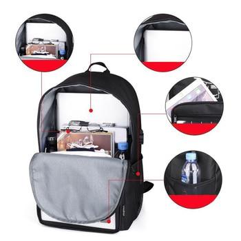 Anti-Theft Solar Laptop Backpack PO66