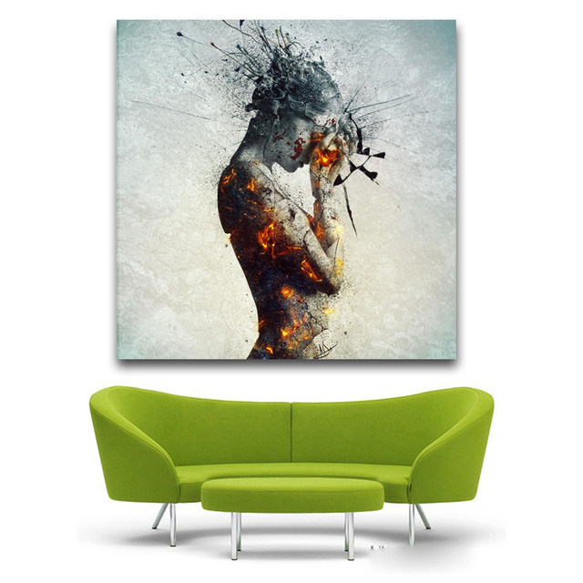 Online Shop Contemporary Modern colorfull nude art painting unique ...