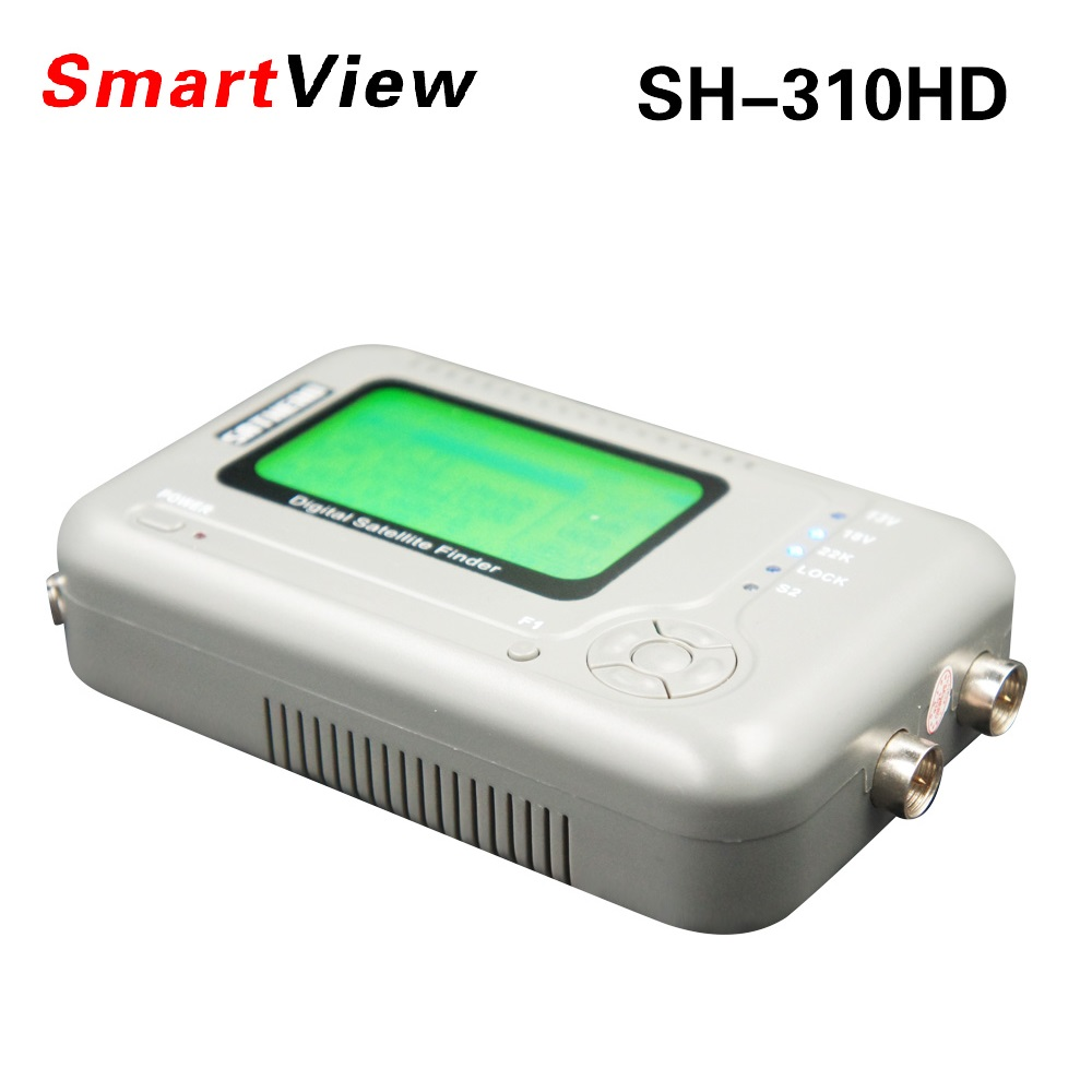 Original SH-310HD DVB-S2 & DVB-T2 Combo Signal Finder Digital Satellite Finder DVB-S Satfinder DVB-T Signal Meter SH-310HD satlink ws 6979se satellite finder meter 4 3 inch display screen dvb s s2 dvb t2 mpeg4 hd combo ws6979 with big black bag