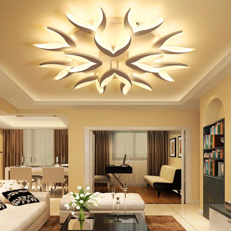 Chandelierrec Modern Led Ceiling Chandeliers For Living