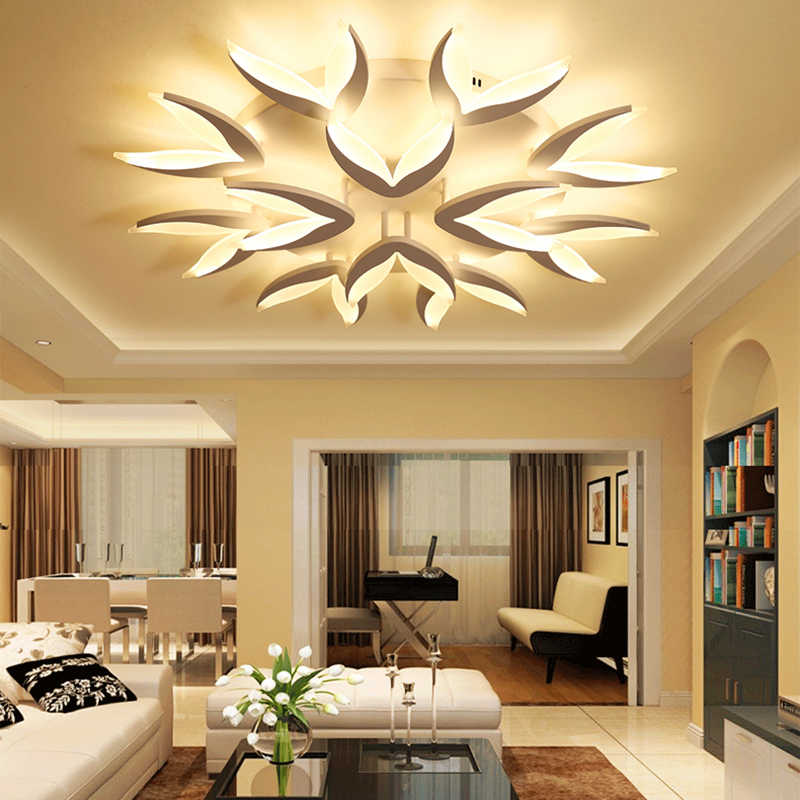Led Ceiling Chandeliers For Living Room