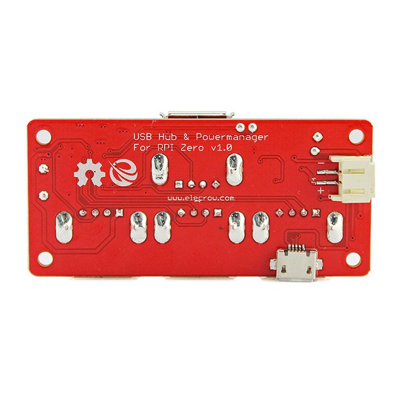 Raspberry Pi Zero USB Hub Powermanager for RPI Zero 4 USB ...