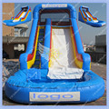 Free Shipping  Inflatable Pool Slide Commercial Inflatable Slide Pool for Rental Business