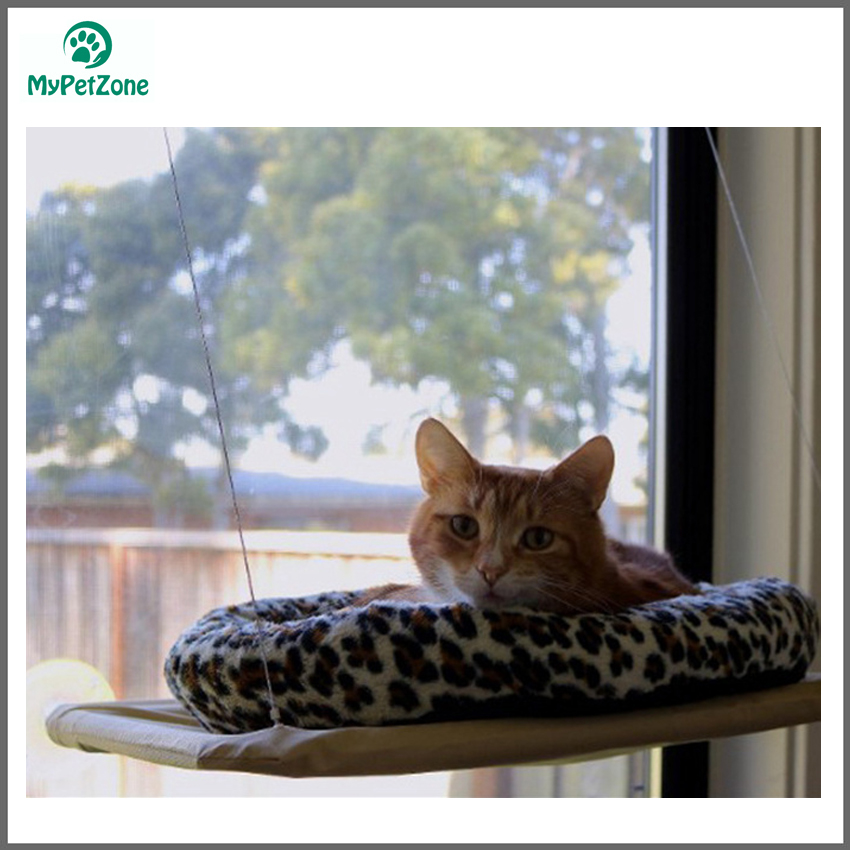 Pet Products Professional Sale Semi-circular Cat Litter Cat Hammock Suction Window Sill Cage 2018 New Cat Supplies Pet Bed For Hanging Selling Well All Over The World Cat Beds & Mats