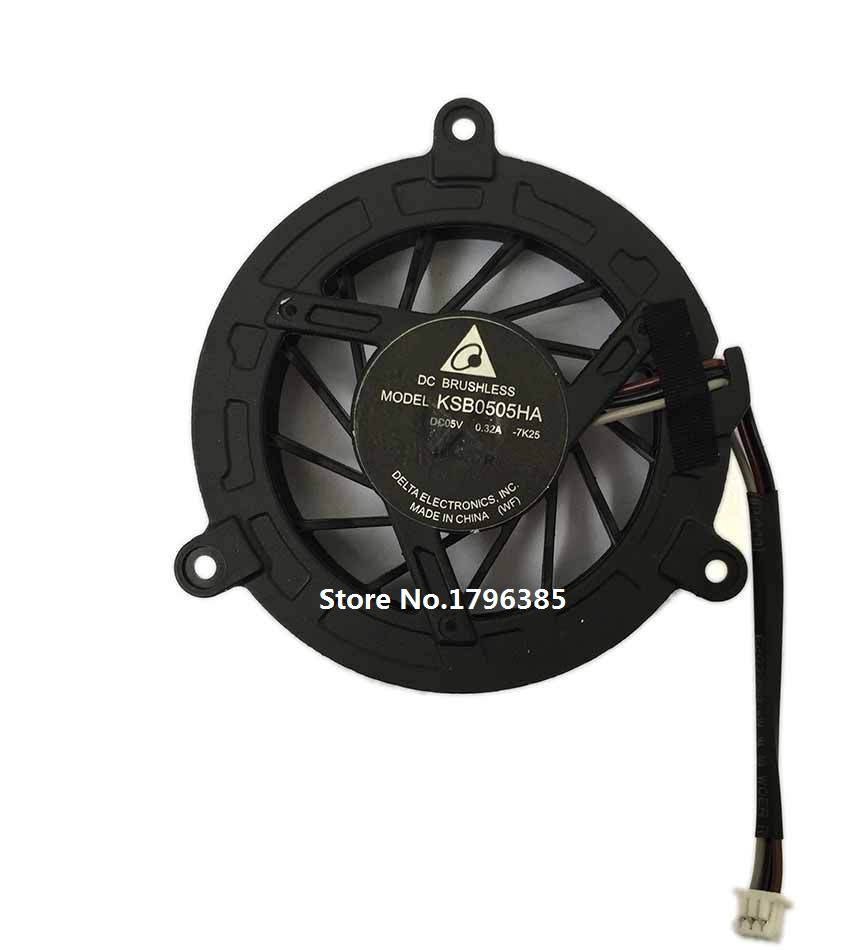 SSEA New cpu fan For TOSHIBA M300 M301 M302 M305 M306 M307 M308 4411S 4410S 4415S 4416S CPU Cooling Fan P/N KSB0505HA
