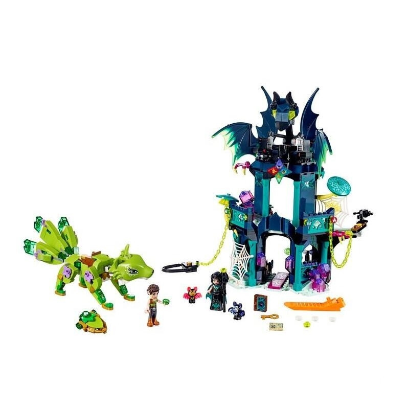 30018 Elf Series Toys 724Pcs Lenok Tula Tower and Earth Fox Rescue Toy Assembled Building Blocks Compatible 41194 Educatio цены онлайн