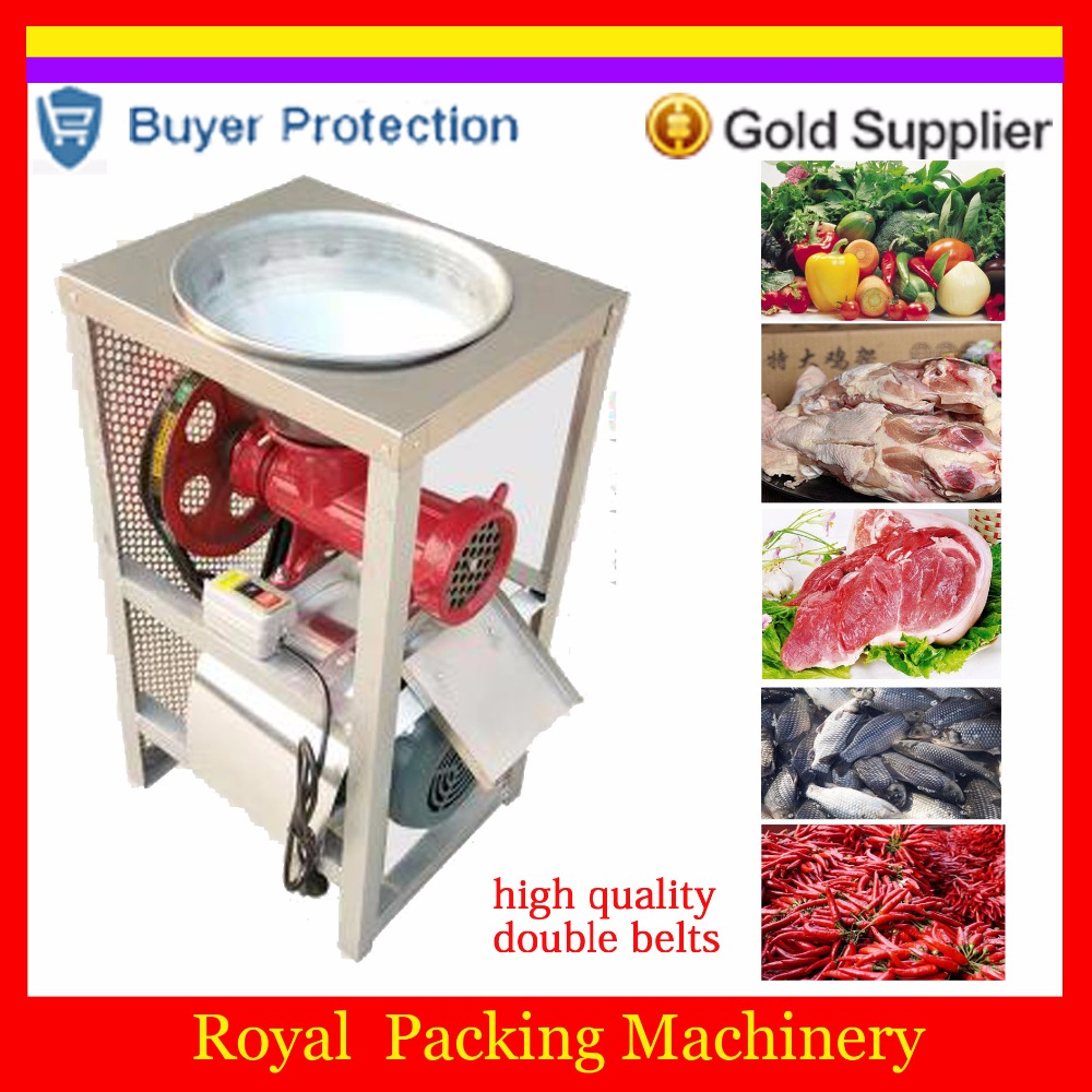 Free shipping Commercial meat Slicing Chopping Grinding machine big meat grinder fish vegetable Chicken shelf chopping