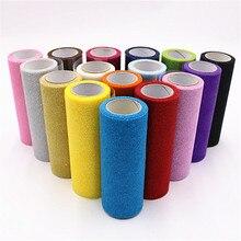 15cm 10Yards Glitter Tulle Roll Sparkly Sequin Organza Mesh DIY Party Crafts Tutu Skirt Wedding Birthday Supplies