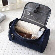 Saco de maquiagem saco de armazenamento barato feminino sacos homens grande impermeável náilon viagem saco de cosméticos organizador compõem lavagem saco de higiene pessoal