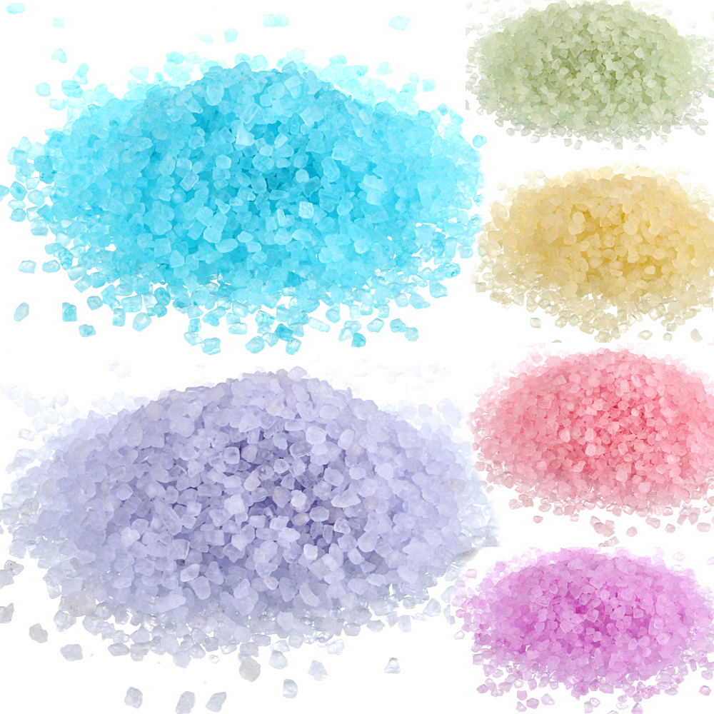 New 200g/Bag Bath Sea Salts Skin Care Relax Spa Shower Favors 13 Scents Rose Lemon U Pick