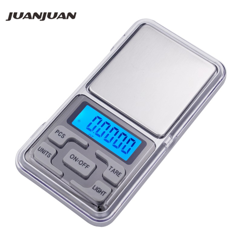 10pcs 200g x 0 01g LCD display Mini Digital Jewelry Pocket Gram Scale weight balance for