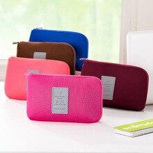 2016 Multifunctional Travel Storage Bags Data line admission package shockproof Digital Storage bag Cosmetic Handbag