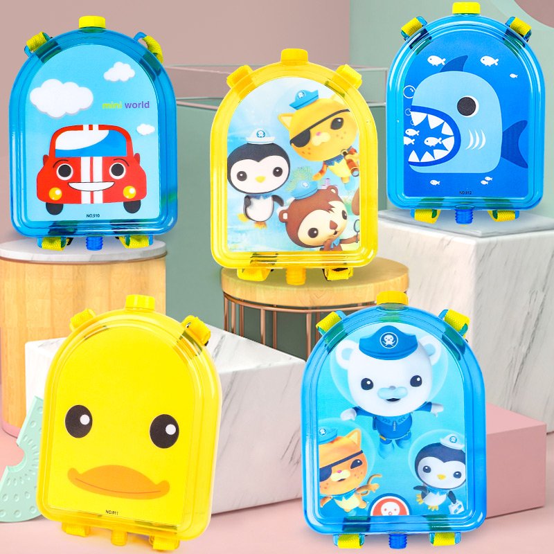 Backpack Water Gun Summer Toy Gun Party Favors Beach Toy Swimming Pool Toy