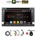 Auto Android 4.4 de Áudio Do Carro de Navegação GPS Rádio Estéreo Do Carro 2DIN GPS Do Carro Do Bluetooth USB/Universal Intercambiáveis Jogador TV 8G MAPA