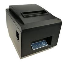 Großhandel marke neue 80mm erhalt POS drucker qualität Thermischer rechnungsdrucker Automatische cutter USB + Netzwerk port Druck schnelle