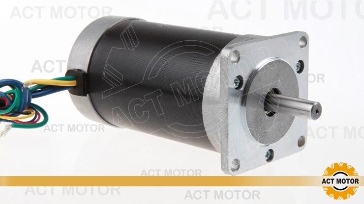 цена на ACT Motor 1PC Nema23 Brushless DC Motor 57BL03 24V 52W 3000RPM 3Phase Single Shaft CNC Router US CA UK DE FR IT BE JP Free