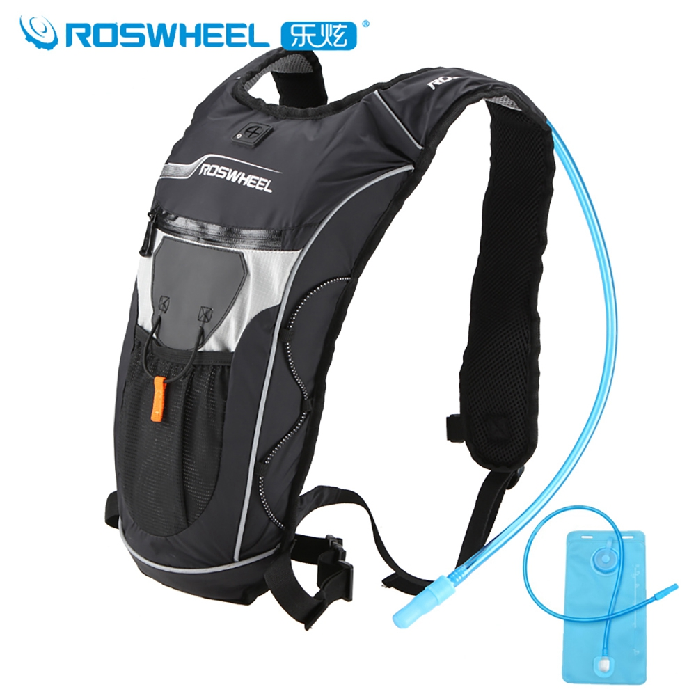 Roswheel Waterproof Cycling Backpack MTB Bike Hydration Backpack Lightweight Sport Travel Backpack Water Bag Mochila Hidratacion