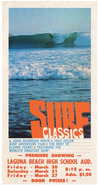 Vintage Surfing Sports Surf Classics Retro Poster Canvas Painting