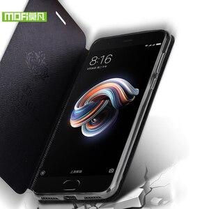 Image 3 - Mofi For Xiaomi Mi Note 3 case For Xiaomi Mi Note 3 Pro case cover silicon luxury flip leather original For Xiaomi Mi Note3 case
