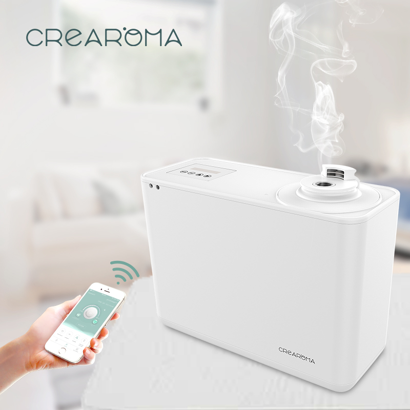 Crearoma 2019 Popular Phone App remote control scent essential oil diffuser with WiFiCrearoma 2019 Popular Phone App remote control scent essential oil diffuser with WiFi