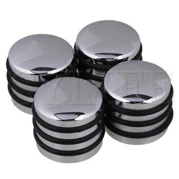 4 шт. уплотнительное кольцо для гитары с басами поворотные ручки для 6 мм сплайсинового вала серебристого цвета