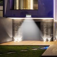 46LED SMD2835 Solar Wall Light Waterproof Outdoor Garden Night Lighting Lamp 4 Kinds Of Lighting Mode Button Adjustment