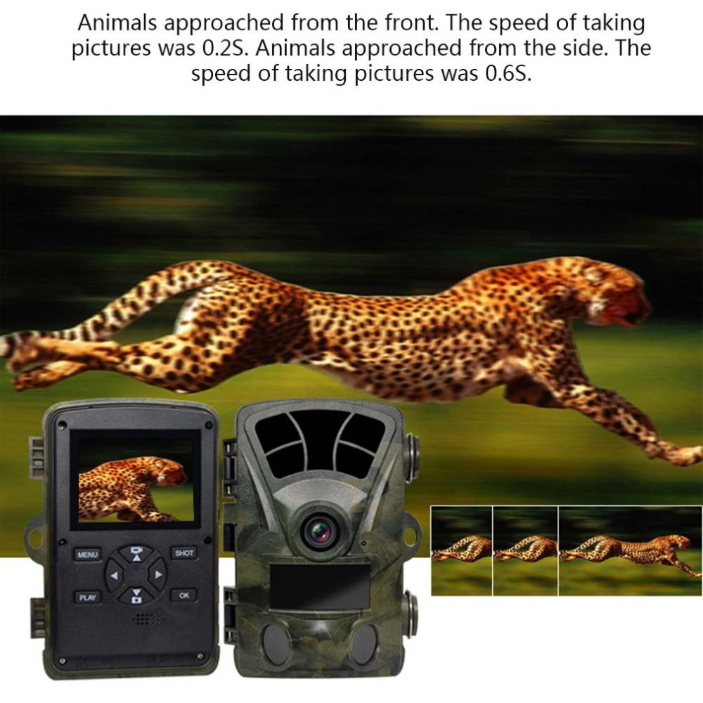 H885 1600W HD Pixels Waterproof Hunting Camera For Field Outdoor Monitoring Pyroelectric Infrared Sensing TechnologyH885 1600W HD Pixels Waterproof Hunting Camera For Field Outdoor Monitoring Pyroelectric Infrared Sensing Technology