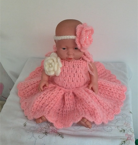 dd20ab2be Mohair bebé vestido