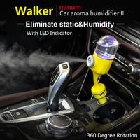 Car Aroma Diffuser Humidifier Mini Car Aromatherapy Humidifier Air Diffuser Purifier Essential Oil Diffuser 360 Degree