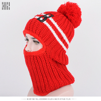 2017 New Arrival Promotion Winter Hats For Knitted Beanie Girl Hat Women Cap Brand Female Couples Stocking Outdoor Sport