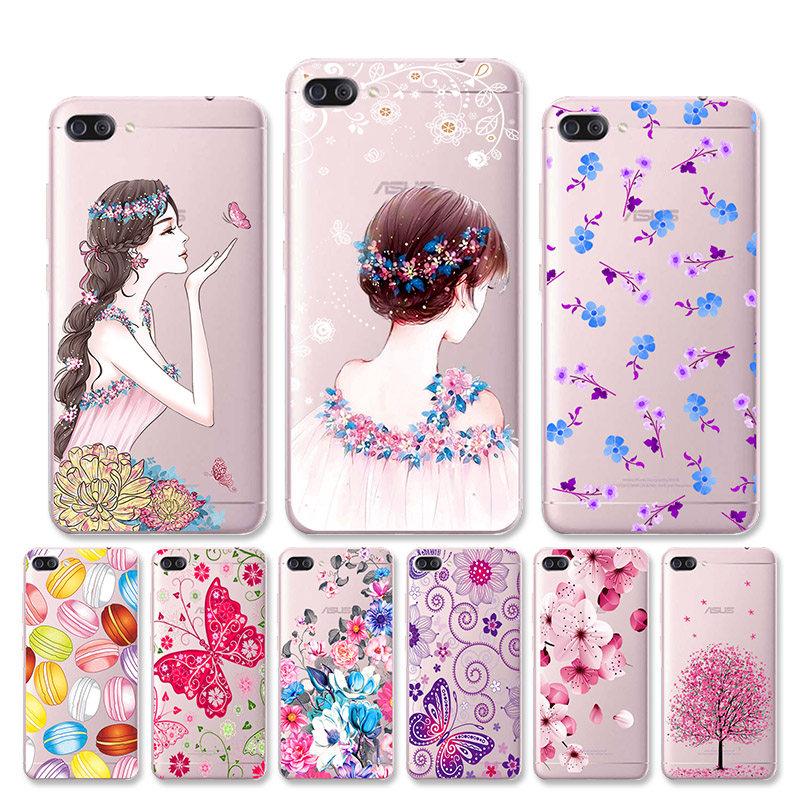 DIY Painted Clear Case For <font><b>ASUS</b></font> Zenfone MAX Case Silicone Soft Back Cover For Case <font><b>ASUS</b></font>_<font><b>Z010DD</b></font> Z010D ZC550KL Z010DA 5.5