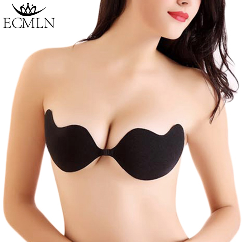 Fly Bra Strapless Silicone Push Up Invisible Bra Self Adhesive Backless Bralette Lift Bralette Plus Size Seamless Bras