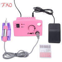 Fiso Professional Nail Tools Grinding Manicure False Electric Mill Cutters Drilling Machine Drill And Accessory