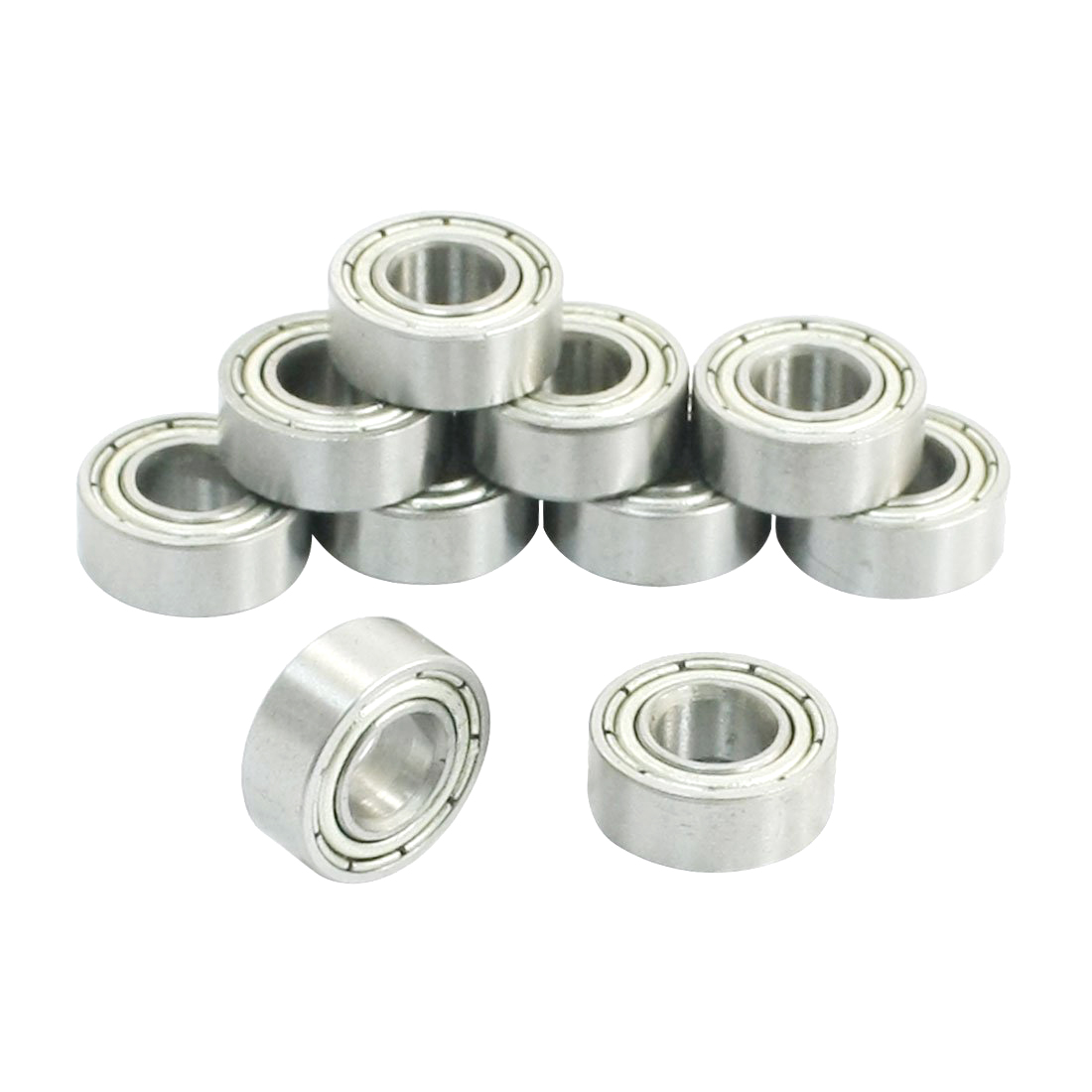 CNIM Hot 6mm x 13mm x 5mm Miniature Deep Groove Radial Ball Bearings 686Z 10Pcs цена