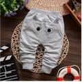 Muchachas de Los bebés Pantalones de Primavera Niños Ropa de Algodón Patrón de Los Gatos bebé Pantalones Largos Pantalones Harén Niña Muchachas de Los Bebés ropa