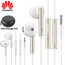 Original Huawei Honor AM115 Headset AM116 earphone with 3.5mm Plug earbuds earphone wired for Huawei P10 P9 P8 Mate9 Honor 8(China)