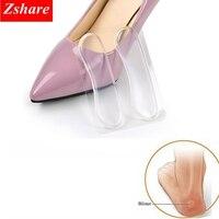 1 paire Silicone doux insérer talon doublure poignées talon haut confort coussinets pieds soins accessoires HT-4