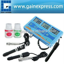 Multi-function 7-in-1 ORP (mV), PH, CF, EC, TDS (ppm), degree F, degree C Meter Tester Thermometer