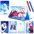 HOT! luxury fashion cover case for Samsung Tab E 9.6 T560 T561 Cartoon Series child PU Leather case