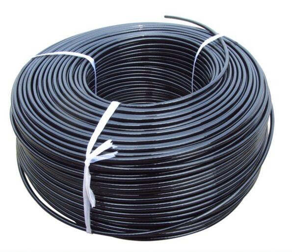 Cable By The Foot 6mm,diameter With Black Nylon Coating,replacement Parts For Fitness
