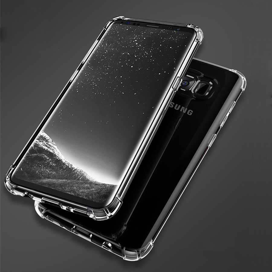 Anti-knock Armor Case for Samsung S9 S8 Note 9 8 5 4 Cases A3 A5 A7 J3 J5 J7 Pro 2017 A6 A8 Plus 2018 Soft Cover Full Protective