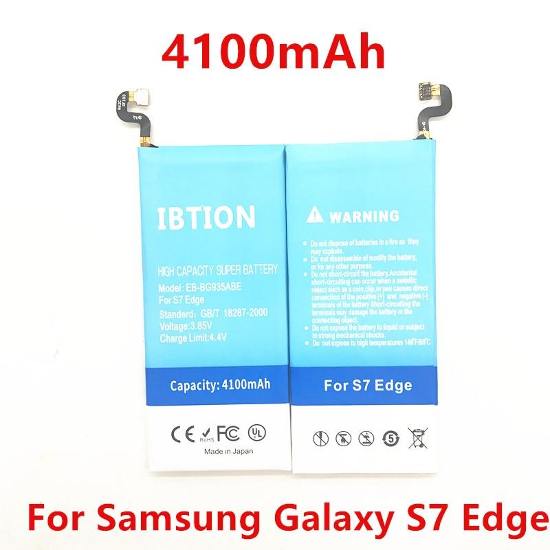 IBTION Battery-Replacement S7-Edge EB-BG935ABE Samsung Galaxy 4100mah For G935f/g9350
