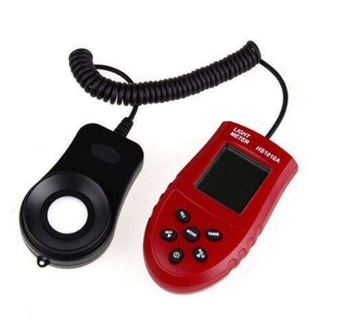 TA8133 Digital Luxmeter illuminance Light Meter 200000Lux Lux//FC illuminometer-831F