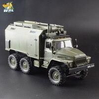 WPL B36 1:16 машинка на радиоуправлении 2,4G 6WD военный грузовик гусеничный команда Связь автомобиля РТР прогулочная коляска Carrinho de пульта