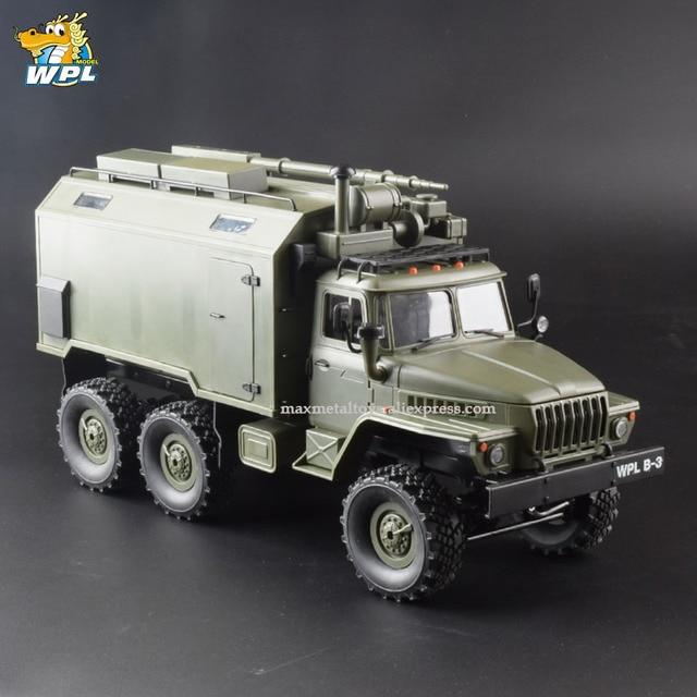 WPL B36 масштаб 1:16 Радиоуправляемый автомобиль 2,4G 6WD военный грузовик гусеничный автомобиль управления и связи RTR игрушка Carrinho de Control