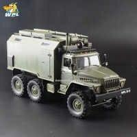 WPL B36 1:16 RC voiture 2.4G 6WD militaire camion chenille commande Communication véhicule RTR jouet Carrinho de controle