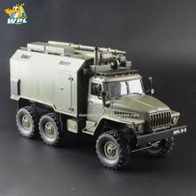 WPL B36 voiture RC 1:16, camion militaire, 2.4G 6WD, chenille, véhicule de Communication, commande, voiture à jouet RTR