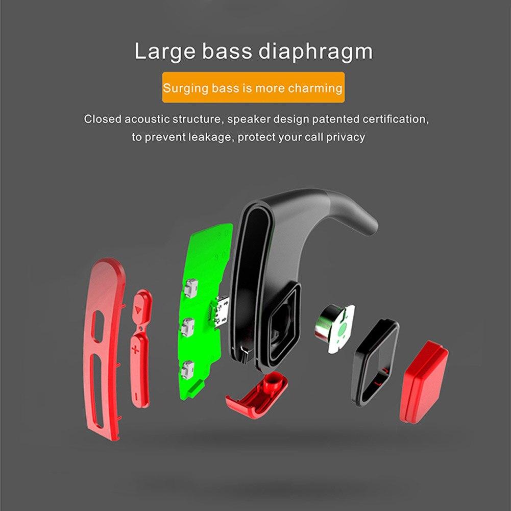 Os Pass casque sport sans fil Bluetooth oreilles tête montée casque stéréo étanche QJY99