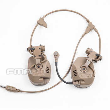 FMA Tactical Function RAC Noise Reduction Headset For ARC Series Rail Helmet BK/DE
