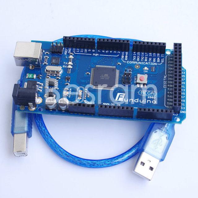Placa de Desenvolvimento MEGA2560 ATmega2560 Funduino Arduino Compatível w/cabo USB